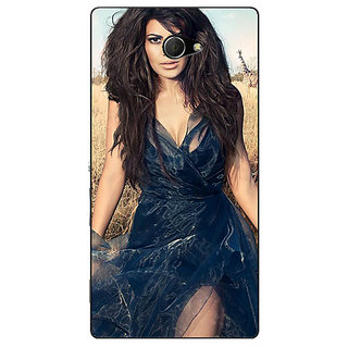 EYP Bollywood Superstar Jacqueline Fernandez Back Cover Case For Sony Xperia M2 Dual 320992