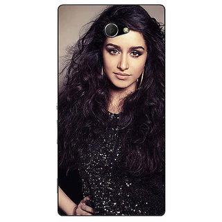 EYP Bollywood Superstar Shraddha Kapoor Back Cover Case For Sony Xperia M2 Dual 321008