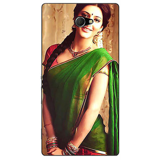 EYP Bollywood Superstar Shruti Hassan Back Cover Case For Sony Xperia M2 Dual 321017