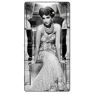 EYP Bollywood Superstar Sonam Kapoor Back Cover Case For Sony Xperia M2 Dual 321021