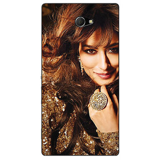 EYP Bollywood Superstar Chitrangada Singh Back Cover Case For Sony Xperia M2 Dual 321034