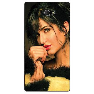 EYP Bollywood Superstar Katrina Kaif Back Cover Case For Sony Xperia M2 Dual 321056