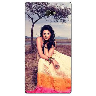 EYP Bollywood Superstar Parineeti Chopra Back Cover Case For Sony Xperia M2 Dual 321061