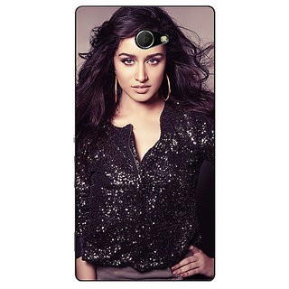 EYP Bollywood Superstar Shraddha Kapoor Back Cover Case For Sony Xperia M2 Dual 321064