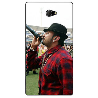 EYP Bollywood Superstar Honey Singh Back Cover Case For Sony Xperia M2 Dual 321178