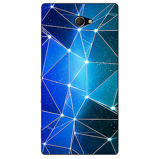 EYP Crystal Prism Back Cover Case For Sony Xperia M2 Dual 321446
