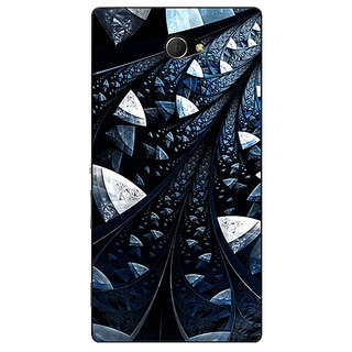 EYP Abstract Design Pattern Back Cover Case For Sony Xperia M2 Dual 321523