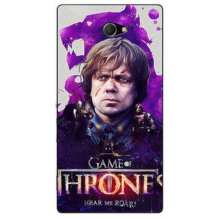 EYP Game Of Thrones GOT House Lannister Tyrion Back Cover Case For Sony Xperia M2 Dual 321546