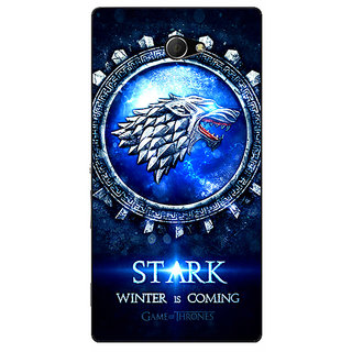 EYP Game Of Thrones GOT House Stark Back Cover Case For Sony Xperia M2 Dual 321555