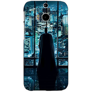 EYP Superheroes Batman Dark knight Back Cover Case For HTC One M8 Eye 330002