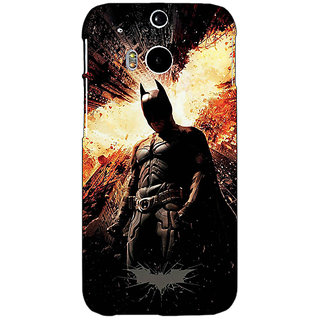 EYP Superheroes Batman Dark knight Back Cover Case For HTC One M8 Eye 330015