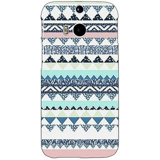 EYP Aztec Girly Tribal Back Cover Case For HTC One M8 Eye 330073