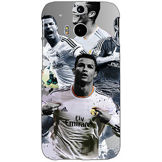EYP Cristiano Ronaldo Real Madrid Back Cover Case For HTC One M8 Eye 330307