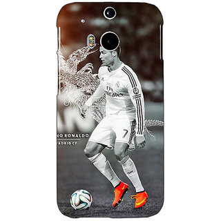 EYP Cristiano Ronaldo Real Madrid Back Cover Case For HTC One M8 Eye 330312