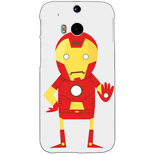 EYP Superheroes Iron Man Back Cover Case For HTC One M8 Eye 330329