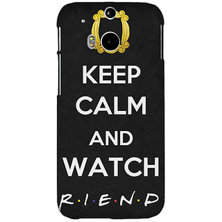 EYP TV Series FRIENDS Back Cover Case For HTC One M8 Eye 330344