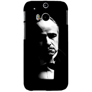 EYP The Godfather Back Cover Case For HTC One M8 Eye 330348