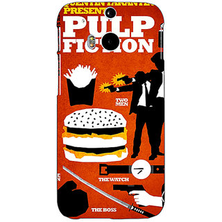 EYP Pulp Fiction Back Cover Case For HTC One M8 Eye 330355