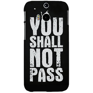 EYP LOTR Hobbit Gandalf Back Cover Case For HTC One M8 Eye 330362