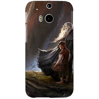 EYP LOTR Hobbit Gandalf Back Cover Case For HTC One M8 Eye 330365