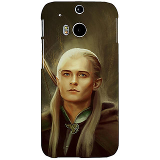 EYP LOTR Hobbit  Back Cover Case For HTC One M8 Eye 330375