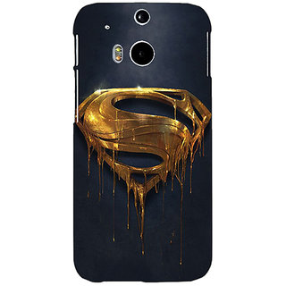 EYP Superheroes Superman Back Cover Case For HTC One M8 Eye 330391