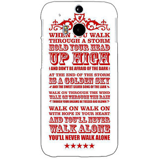 EYP Liverpool Back Cover Case For HTC One M8 Eye 330551