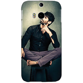 EYP Bollywood Superstar Aditya Roy Kapoor Back Cover Case For HTC One M8 Eye 330940