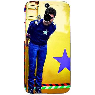 EYP Bollywood Superstar Siddharth Malhotra Back Cover Case For HTC One M8 Eye 330944