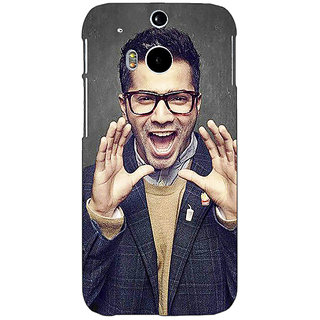 EYP Bollywood Superstar Varun Dhawan Back Cover Case For HTC One M8 Eye 330946