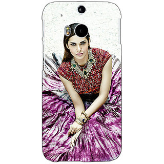 EYP Bollywood Superstar Esha Gupta Back Cover Case For HTC One M8 Eye 330968