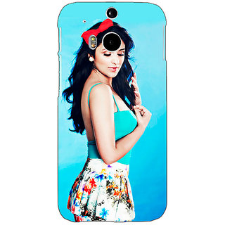 EYP Bollywood Superstar Parineeti Chopra Back Cover Case For HTC One M8 Eye 330977