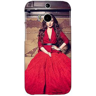 EYP Bollywood Superstar Kareena Kapoor Back Cover Case For HTC One M8 Eye 330982