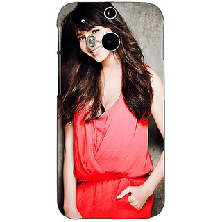 EYP Bollywood Superstar Anushka Sharma Back Cover Case For HTC One M8 Eye 331031