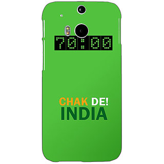 EYP Bollywood Superstar Chak De India Back Cover Case For HTC One M8 Eye 331106