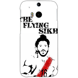 EYP Bollywood Superstar Milkha Singh Back Cover Case For HTC One M8 Eye 331107