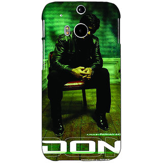 EYP Bollywood Superstar Don Shahrukh Khan Back Cover Case For HTC One M8 Eye 331114