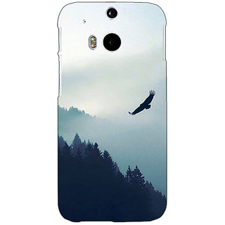 EYP Mountains Valleys Back Cover Case For HTC One M8 Eye 331137