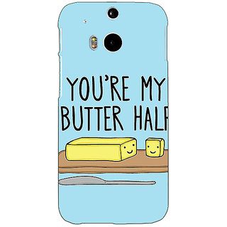 EYP Quotes Better half Back Cover Case For HTC One M8 Eye 331140