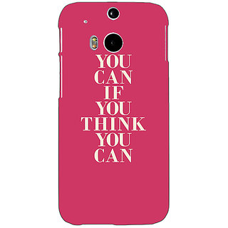 EYP Quotes Back Cover Case For HTC One M8 Eye 331193