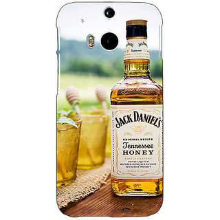 EYP Jack Daniels JD Whisky Back Cover Case For HTC One M8 Eye 331211