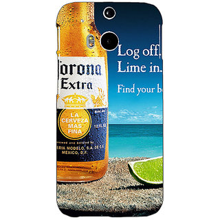 EYP Corona Beer Back Cover Case For HTC One M8 Eye 331237