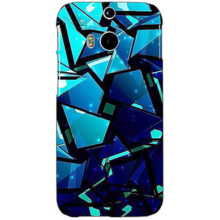 EYP Crystal Prism Back Cover Case For HTC One M8 Eye 331412