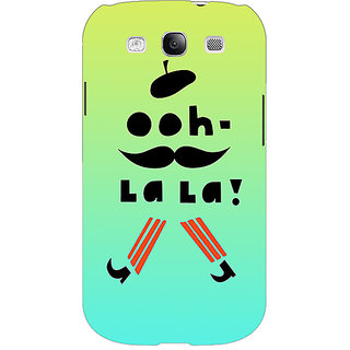 EYP Quotes OOH LALA Back Cover Case For Samsung Galaxy S3 51171