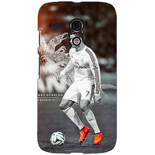 EYP Cristiano Ronaldo Real Madrid Back Cover Case For Moto G (1st Gen) 130312
