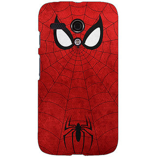 EYP Superheroes Spider Man Back Cover Case For Moto G (1st Gen) 130340