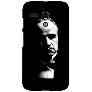 EYP The Godfather Back Cover Case For Moto G (1st Gen) 130348