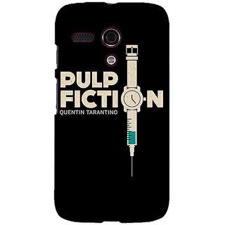 EYP Pulp Fiction Back Cover Case For Moto G (1st Gen) 130352