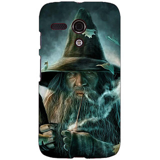 EYP LOTR Hobbit Gandalf Back Cover Case For Moto G (1st Gen) 130364