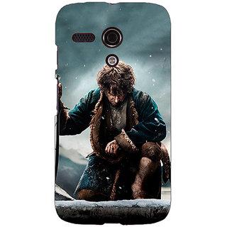 EYP LOTR Hobbit  Back Cover Case For Moto G (1st Gen) 130372